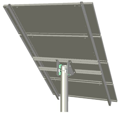 Ironridge Uni Tp 04a Top Of Pole Mount 110 Quot Support