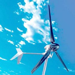 Lakota Wind Turbine in Flight!