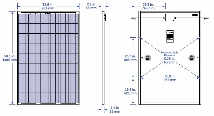 BP 3230N   BP 3230N Solar Panel   BP 3230N Solar Module
