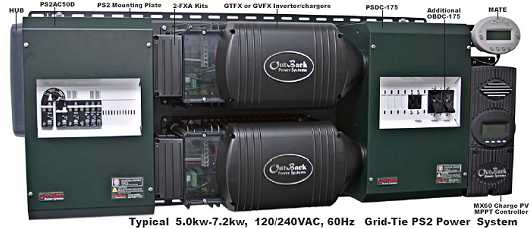 Outback GVFX3648 3600W, 48V Inverter/Charger