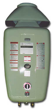 Paloma Tankless Water Heat Natural Gas 12m Dn