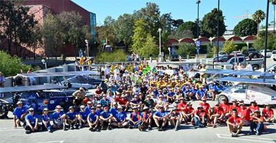 Dell-Winston Solar Car Challenge participating teams