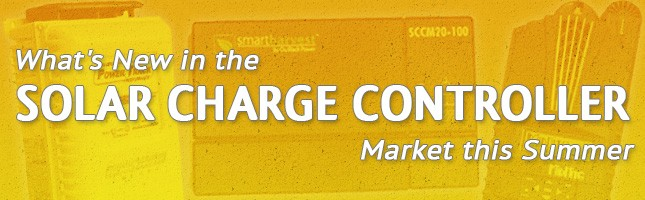 new in solar charge controller market 2015