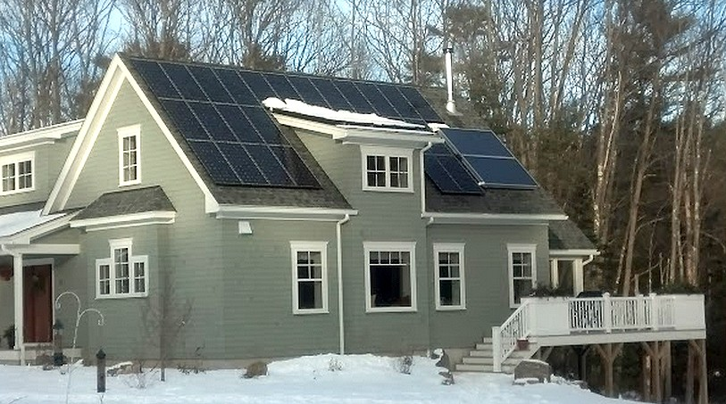Solar PV System with partial shading