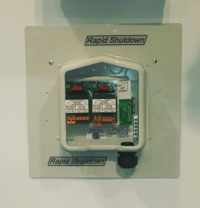 SolaDeck Rapid Shutdown Box