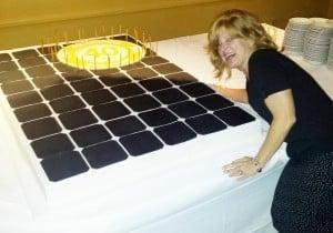 SolarWorld Cake