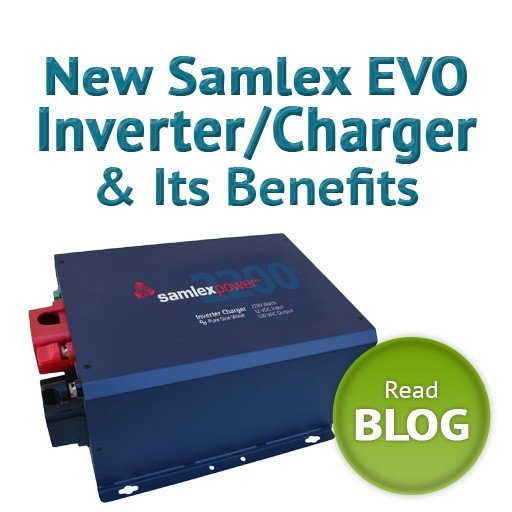 New Samlex EVO Inverter Charger