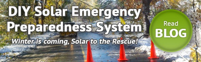 DIY Emergency Preparedness Solar Power System