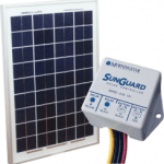 altE 10W Solar Panel and Charge Controller