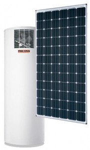 solar water heating with heat pumps