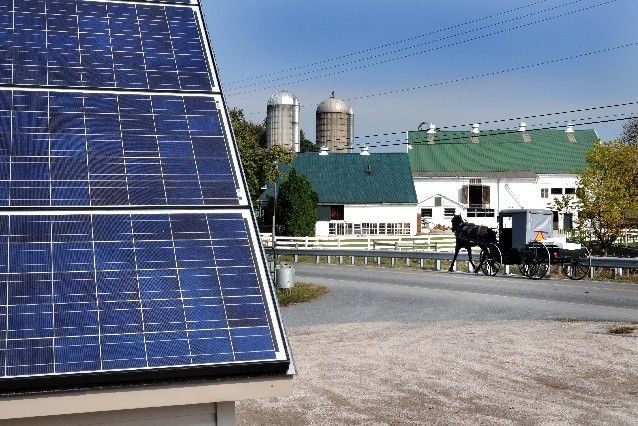 Even the Amish go solar in Pennsylvania and Ohio.