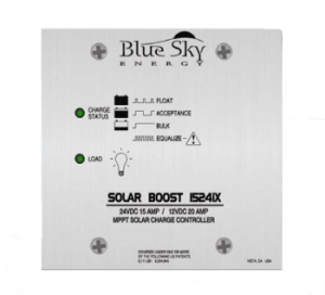 Blue Sky SolarBoost 1524iX solar charge controller is designed for RV use.