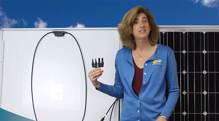 How To: Wiring Solar Panels in Parallel with Couplers | altE ... Wiring Solar on