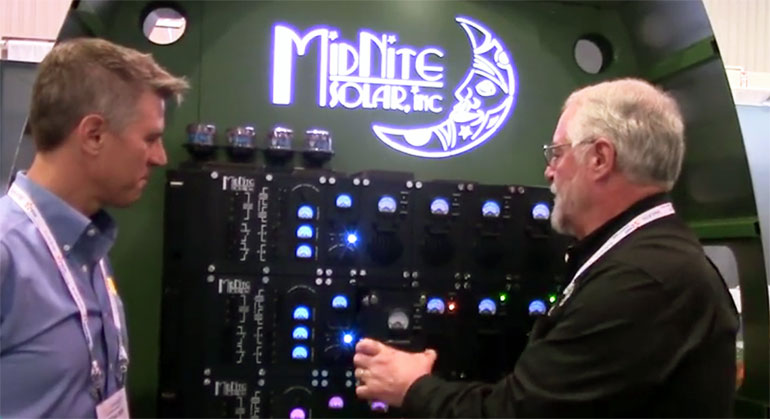 First Look New Solar Power System From Midnite Solar