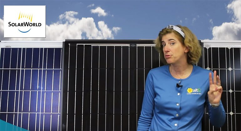 SolarWorld Solar Panels - 3 Facts | altE Solar Blog