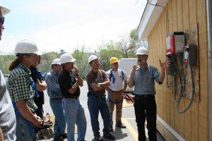 Bob Ramlow teaches Photovoltaics (PV) 303; April, 2009