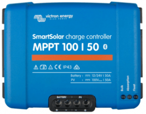 Victron Energy Smart Solar MPPT Charge Controller, 100V, 50A, with bluetooth