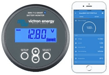 Victron Energy Smart Battery Monitor and phone app