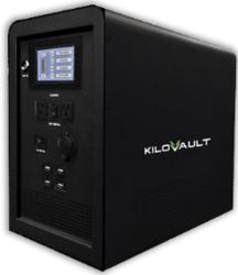 kilovault res q 1500 watt portable backup power unit from altEstore.com