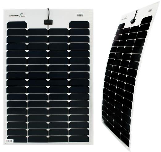 Apolloflex Mono 70w Flexible Solar Panel