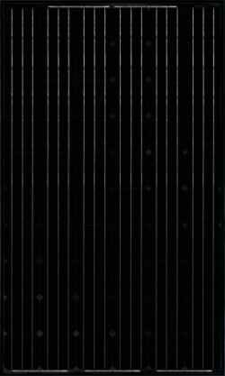 Canadian solar cs6p 24m 245w solar panel black for Solar installers canada