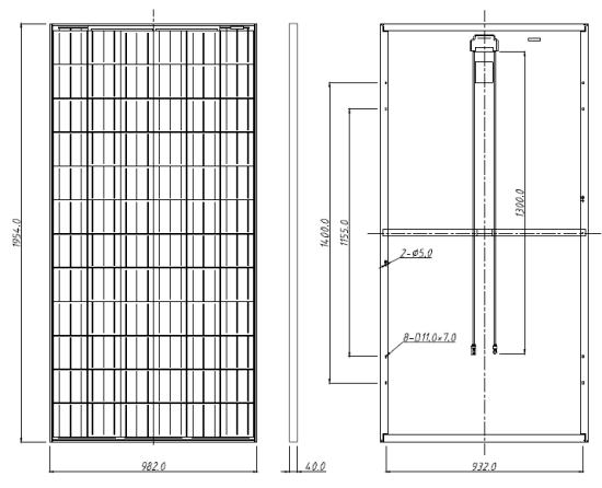 Canadian Solar Cs6x 280p 280 Watt Poly Solar Panel