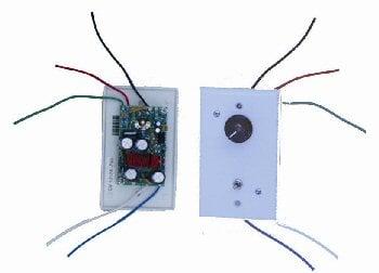 Solar Converters 12/24V DC Fan Speed Controller