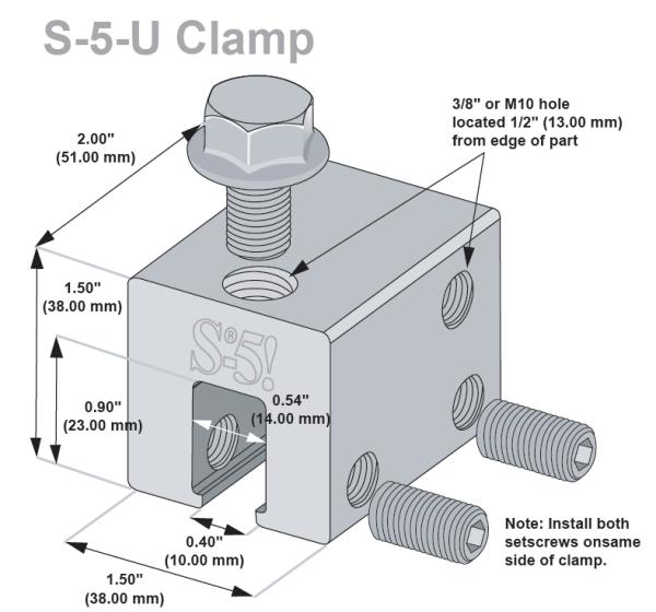 S 5 U Clamp