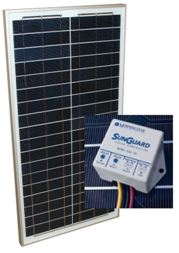 Off Grid Alte 30w Panel With Sunguard 4 5a Pwm Charge