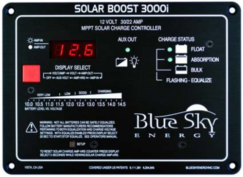 Solar Boost 3000i Mppt Solar Charge Controller 30a 12v