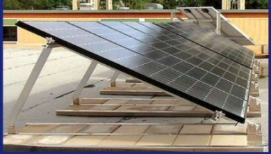 ballast mount solar panels roof panel mounts blocks dpw ballasted concrete mods included note