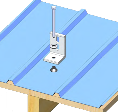 Ecofasten Solar Sim L 102 3 Quot Tall L Foot With Simple Seal