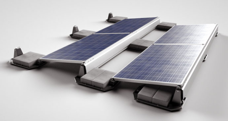 Ecolibrium Solar Inc Ecofoot 2 Kit For Ballasted Roof Mounts