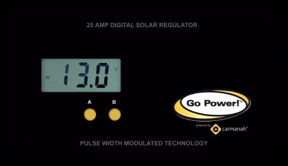 Go Power GP-PWM-25 solar charge controller