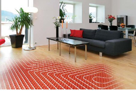 radiant floor heat solar
