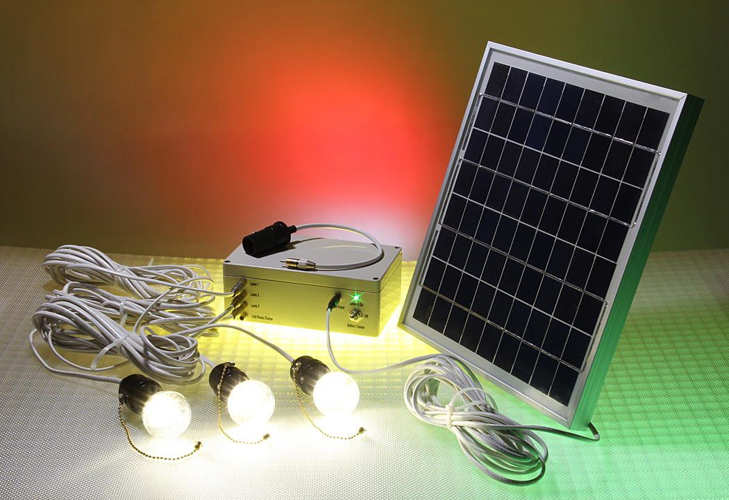 Off Grid Ledtronics Solar Powered Led 12volt 10w Panel