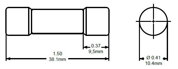1 amp hp 6m fuse  600vdc