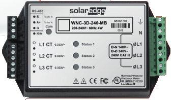 SolarEdge Electricity Meter SE-MTR240-2-200-S1