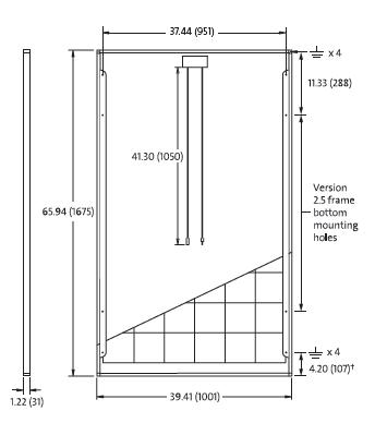 2pcs solarworld sunmodule 260w mono 2 5 frame solar panels 25 yr warranty ebay. Black Bedroom Furniture Sets. Home Design Ideas