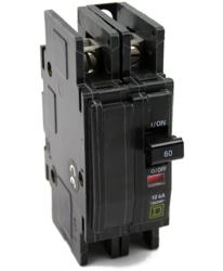 Square D Qou260 60a 2 Pole Circuit Breaker