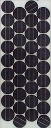 a monocrystalline solar electric panel