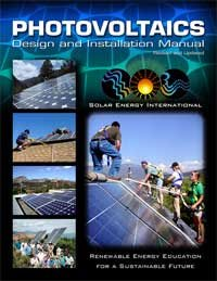 the cover of a book about solar panel installation