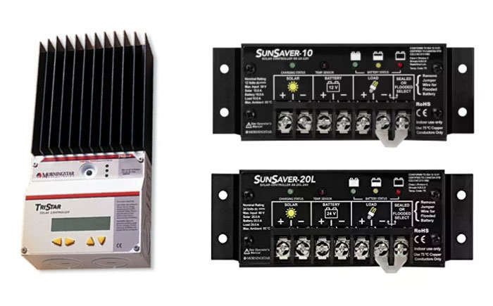 Sizing PWM Solar Charge Controllers