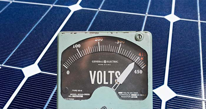 Solar Panels (PV) and Voltages