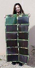 a thin-film solar electric panel