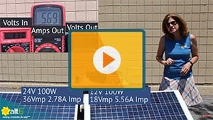 Mismatched Solar Panels: Wire in Parallel or in Series?