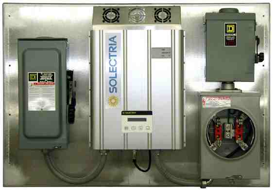 Solectria Power Panel