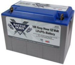 BattleBorn 100 Ah 12V Lithium Battery