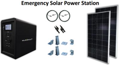 KiloVault Emergency Solar Power Stations   altE
