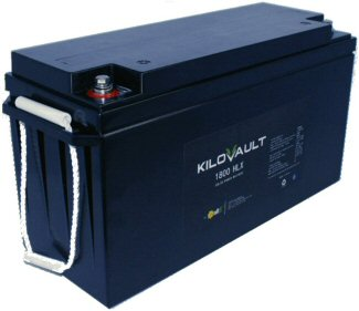KiloVault Solar Lithium Battery Series